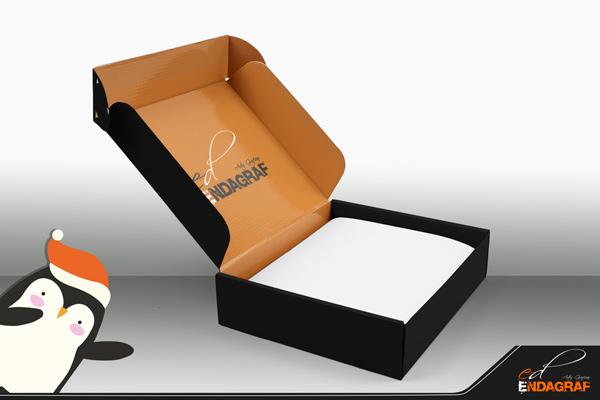 Caja para envío impresa