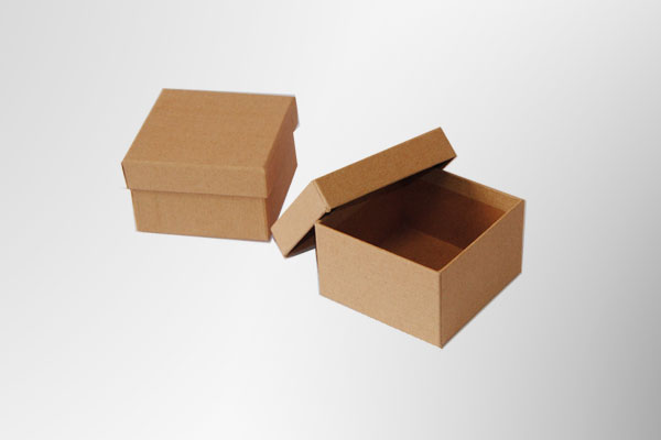 Cajas de cartón forrado