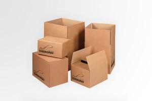 Cajas de cartón para alamcenamiento