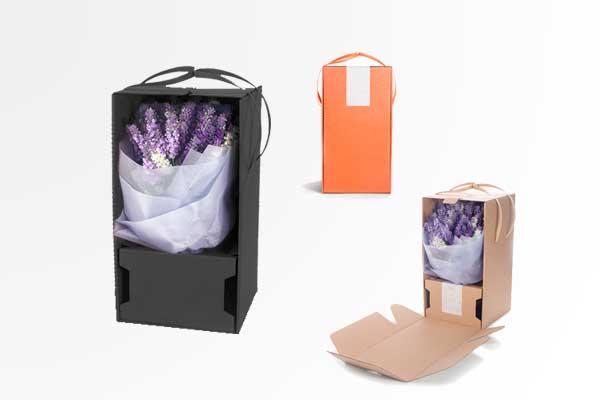 Cajas de flores personalalizadas