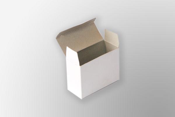 Caja con solapas laboratorio